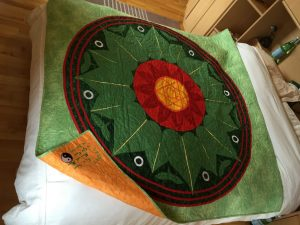 Handmade Yoga Quilt