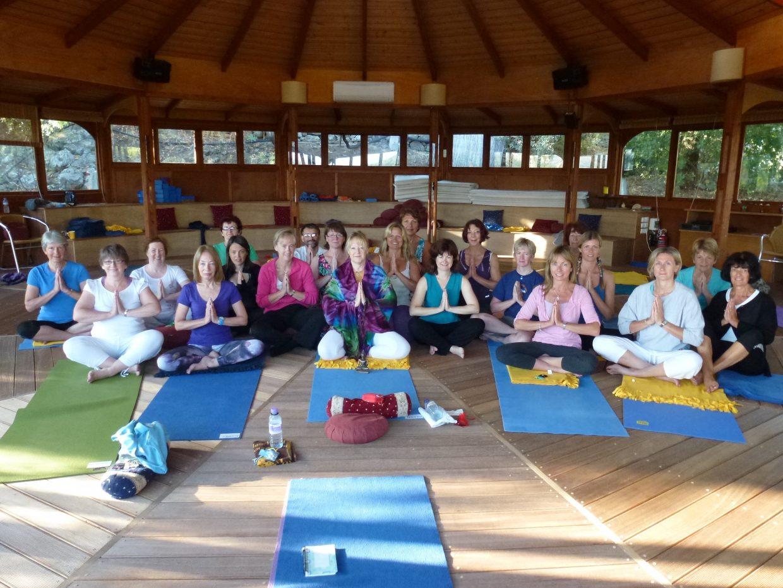 Group Yoga Meditation